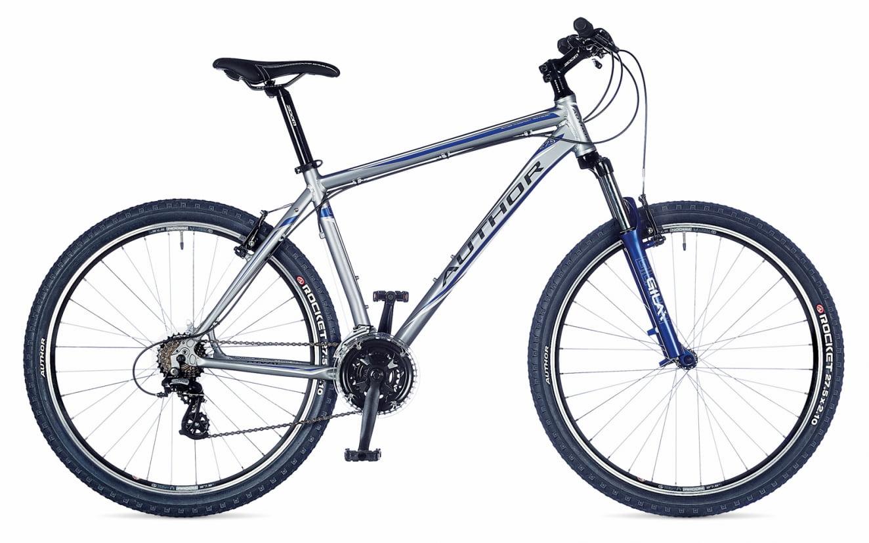Велосипед Rival 27,5 серебристо-синий, рама 21 (1)
