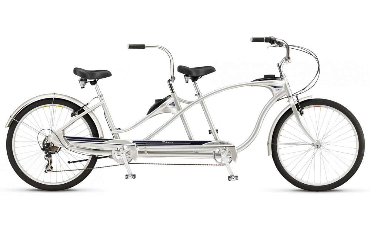 Велосипед Schwinn Tango Tandem 2015 silver